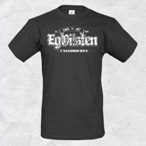 EgOisten T-Shirt ungebrochen anthrazit
